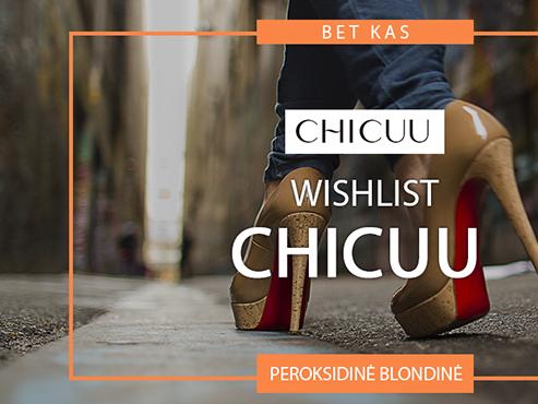 CHICUU WISHLIST