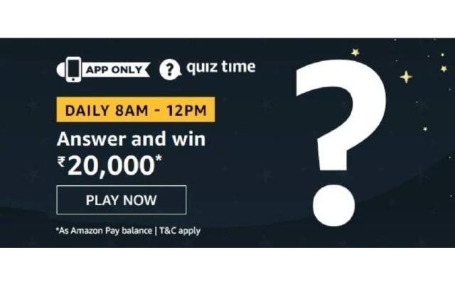 Amazon OPPO RENO 2F Quiz Answers
