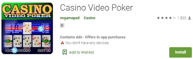 Download Sekarang Juga Game Casino Video Poker Online