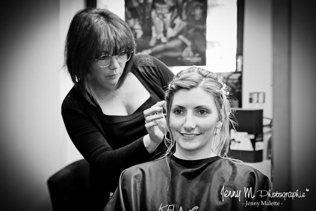 photos reportage mariage, coiffure de la mariée