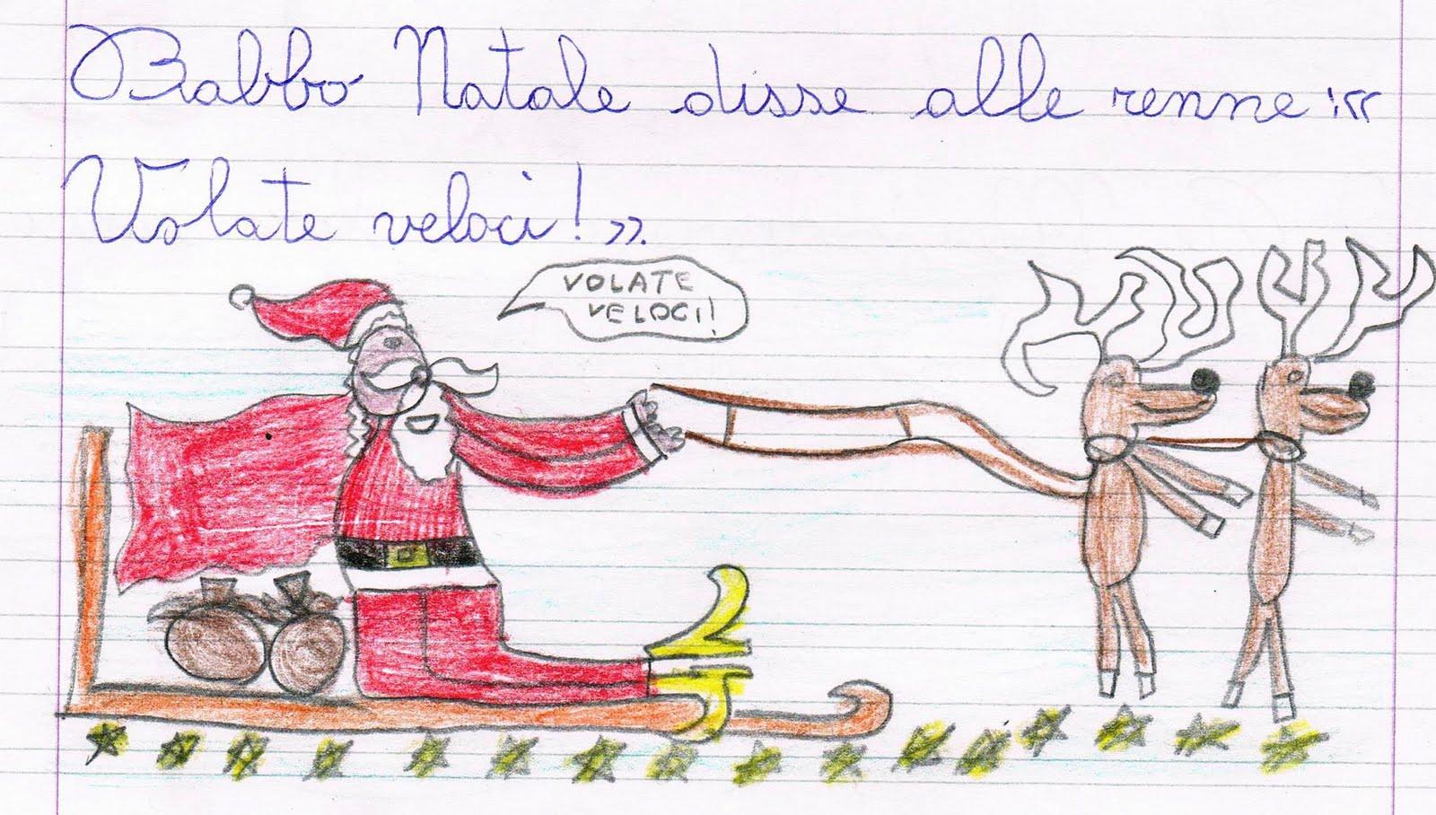 Descrizione Di Babbo Natale Per Bambini.Babbo Natale Descrizione