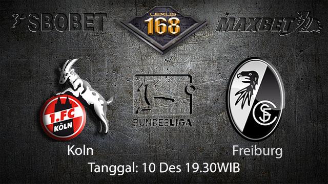 PREDIKSIBOLA - PREDIKSI TARUHAN BOLA KOLN VS FREIBURG 10 DESEMBER 2017 ( BUNDESLIGA )