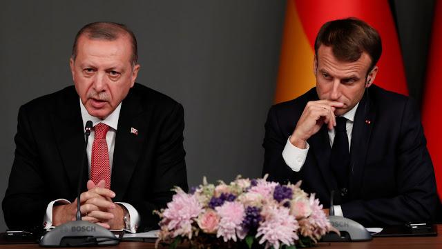 """Erdogan sugiere que Macron compruebe si está """"en muerte cerebral"""" por sus comentarios sobre la OTAN"""