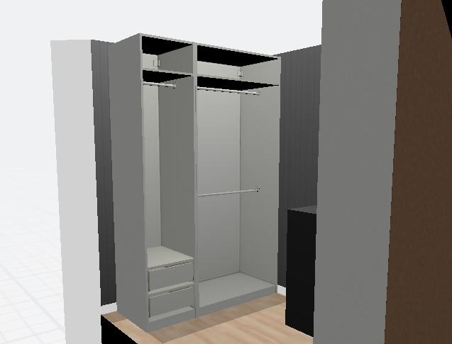 IKEA Closet Billy Bookshelves Bookcases Pax DIY Built Ins Closet Tour Handbag Collection Purse Collection