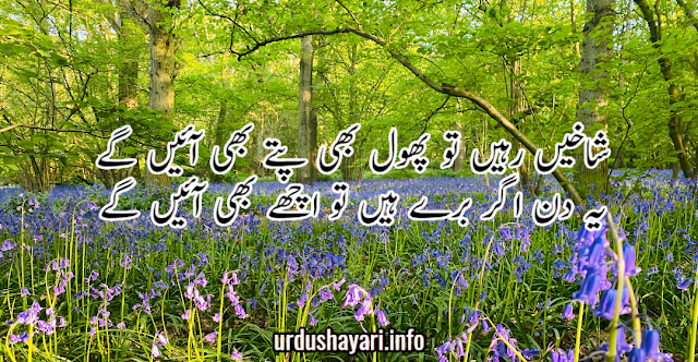 beautiful collection of Urdu Motivational Shayari- 2 lines urdu poetry background image