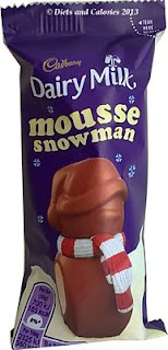 Cadbury Dairy Milk Mousse snowman chocolate