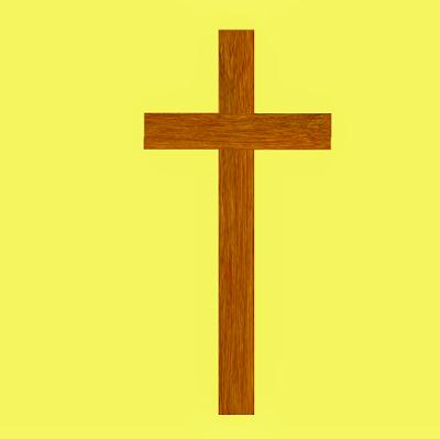 A foto mostra a cruz vazia significa que Jesus Ressuscitou.