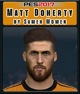 PES 2017 Faces Matt Doherty by Sameh Momen