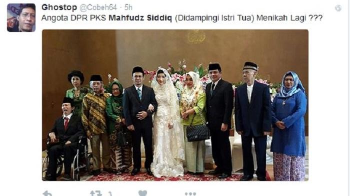 Mahfud MD Tak Terima Dibully, Lantaran yang Menikah Bukan Dirinya tapi Mahfudz Siddiq dari PKS