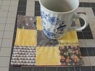 mug rug floating stitches