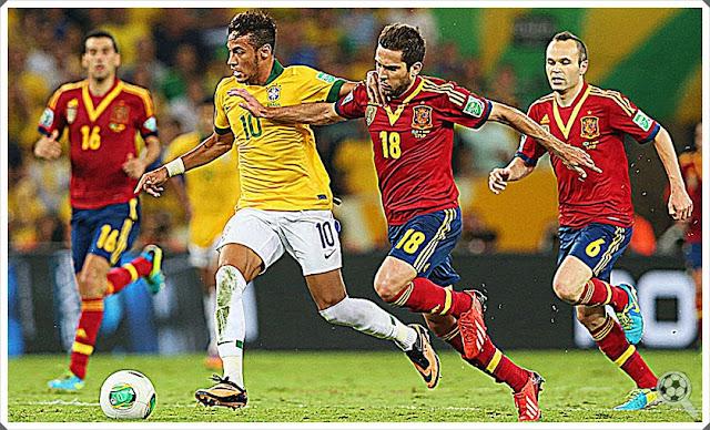 Seleção Brasileira Espanha Neymar