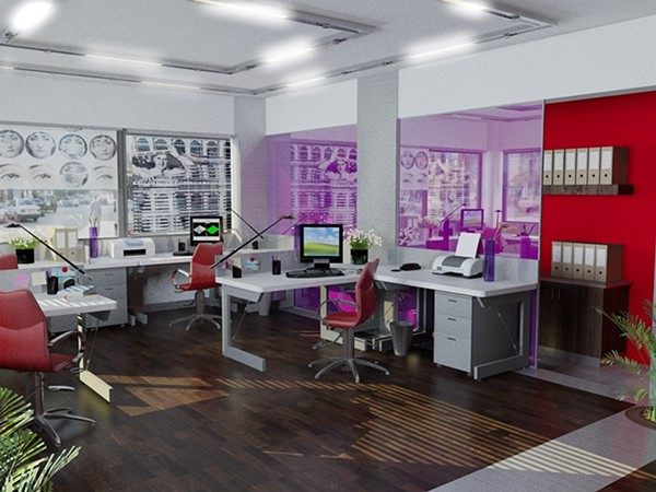 graphic design office inspiration