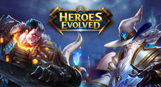 game MOBA android Heroes Evelved