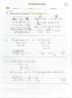 2021 HKDSE Maths P2 MC Detailed Solution 數學 卷二 答案 詳解 Q9,10,11