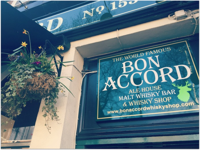 The Bon Accord Glasgow Pub