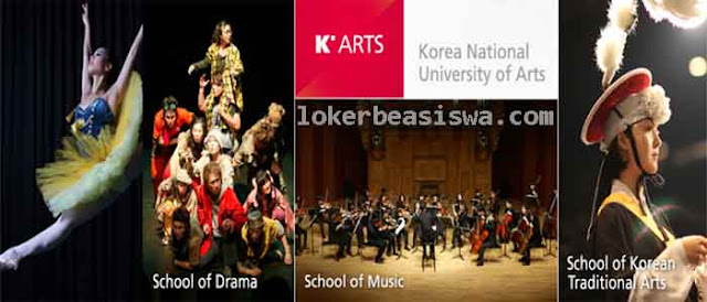 Beasiswa Penuh S1 & S2 K'ARTS Korea