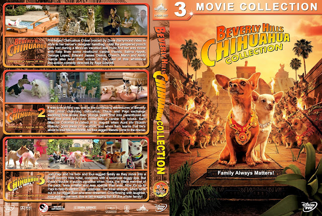 Beverly Hills Chihuahua Collection DVD Cover