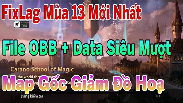Fix Lag Liên Quân Mùa 13 Giảm Lag Với File OBB + Data Mới Nhất | HQT CHANNEL