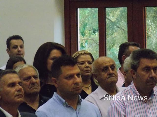 Παρασκευή 30 Αυγούστου 2019 έγινε η ορκωμοσία της νέας Δημοτικής αρχής του Δήμου Στυλίδας