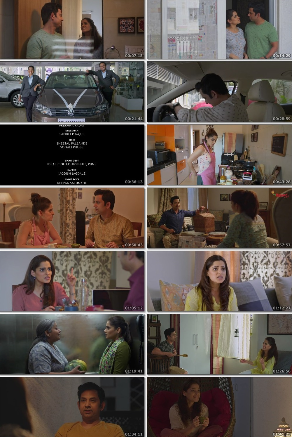 Screenshots Of Hindi Show Aani Kay Hava Season 01 2019 Complete - All Episodes 300MB 720P HD