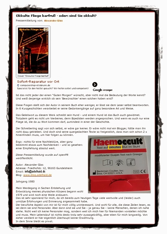 Gewinnen Und Testen Produkttestseite Von Einem Blogger 2011