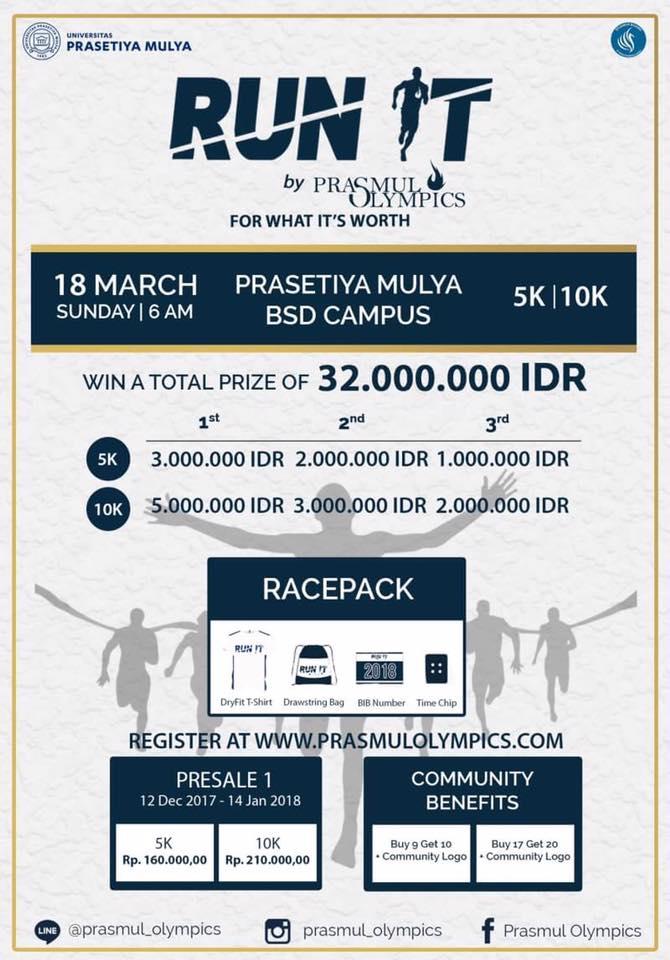 Run It - Prasmul Olympics • 2018
