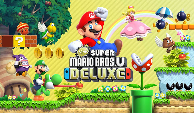 Join Mario And Luigi On A Fun-Filled Platforming Adventure In New Super Mario Bros. U Deluxe, Out Now On Nintendo Switch
