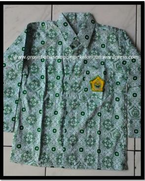 Seragam Batik Sekolah Murah Modern Sd Smp Sma Smk 0857 4188