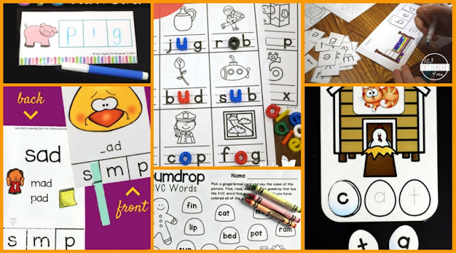 25 Free Cvc Words Activities And Printables