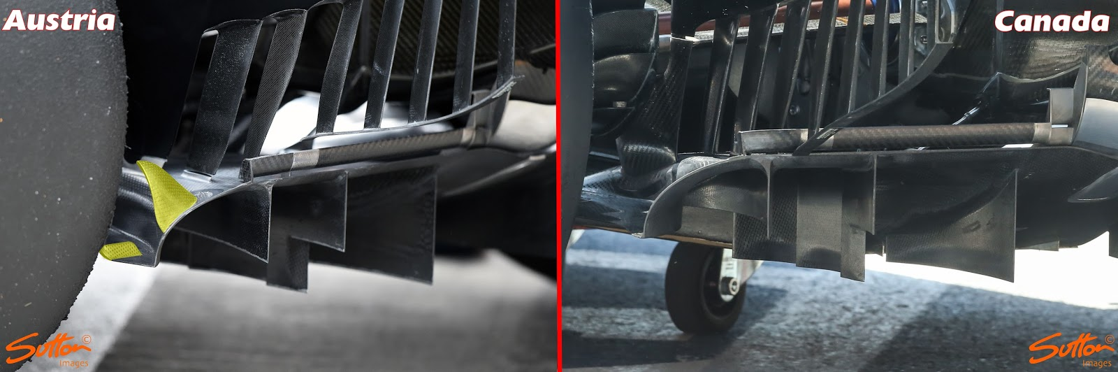 Insight The Floors Of F1 Formula1 Diagram Downforce Generated By Raked Underbody Accompanying Rear Area Is Also Important Very Tight Sidepods Help To Channel Air Flow Over Top Diffuser