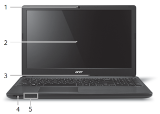 Acer Aspire V 15 Laptop manual PDF download (English)