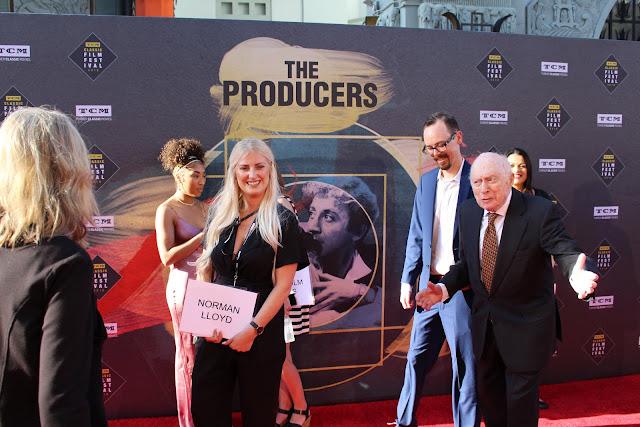 Norman Lloyd TCM Classic Film Festival