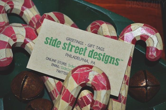 Side Street Design business card