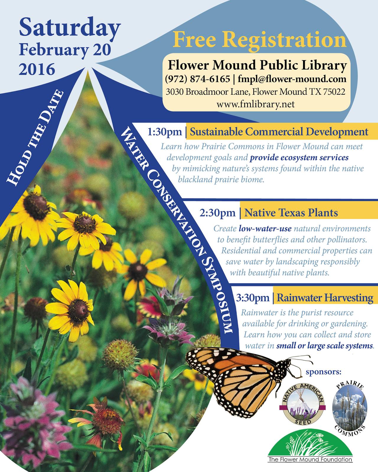 Plano Prairie Garden Water Conservation Symposium