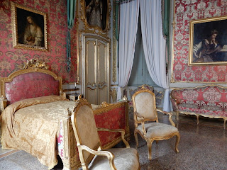 ジェノヴァのMuseo di Palazzo Realeの寝室