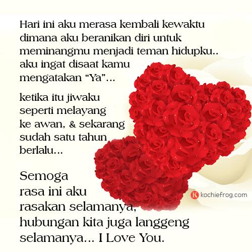 Kata Kata Romantis Happy Anniversary 1 Tahun