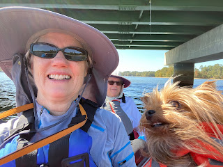 Selfie on the lake