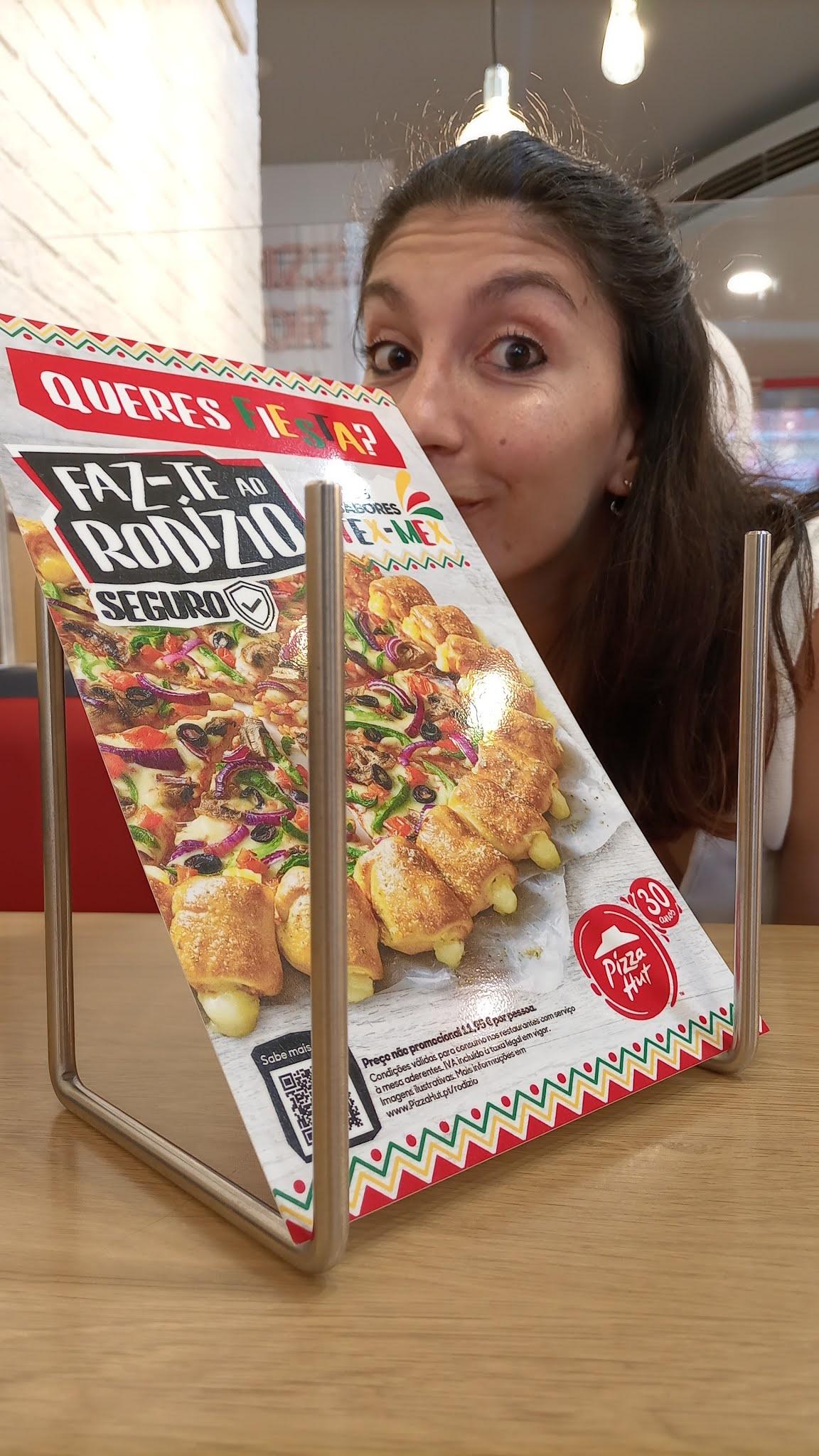 Novo rodízio Pizza Hut