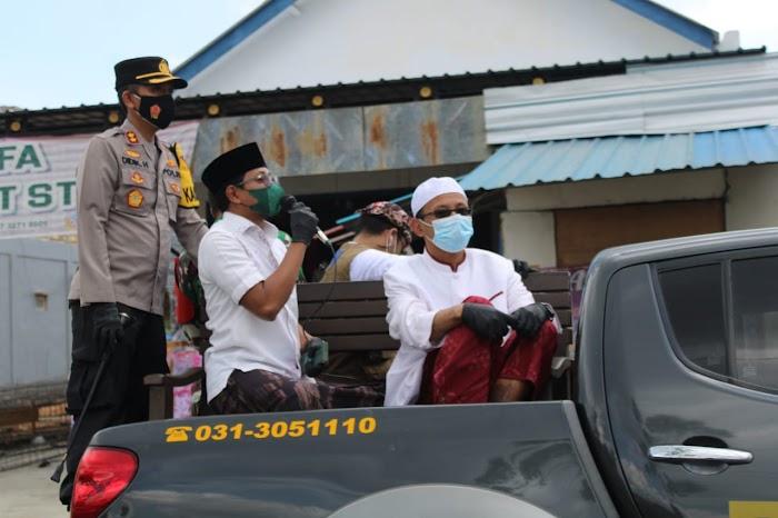 Arosbaya dan Geger Zona Hitam Covid-19, Forkopimda Bangkalan Beri Himbauan Langsung Kepada Warga
