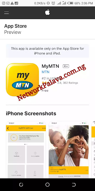 mymtn iPhone download