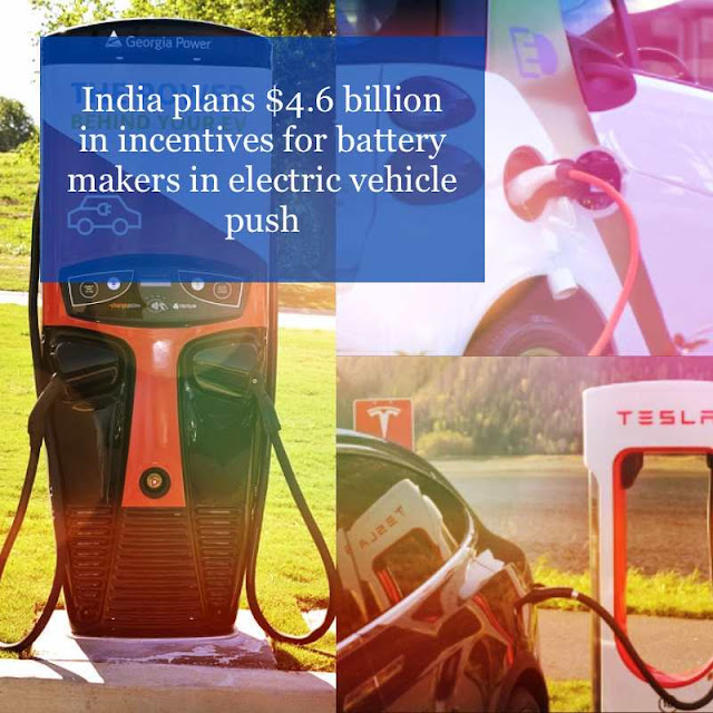 electric vehicle India plans 4.6 billion dollar, 7starhd
