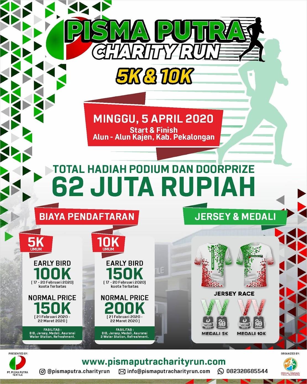 Pisma Putra Charity Run • 2020