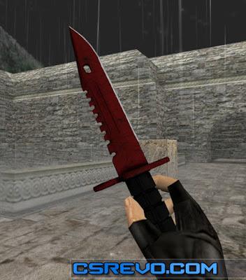 skin knife m9 bayonet crimson web cs go hd para cs 1 6 zmplugins