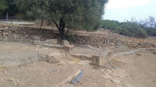 The ancient theatre of Akragas possibly located