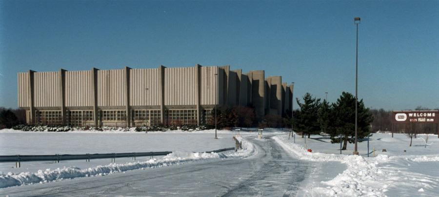 richfield coliseum cavs storia architettura