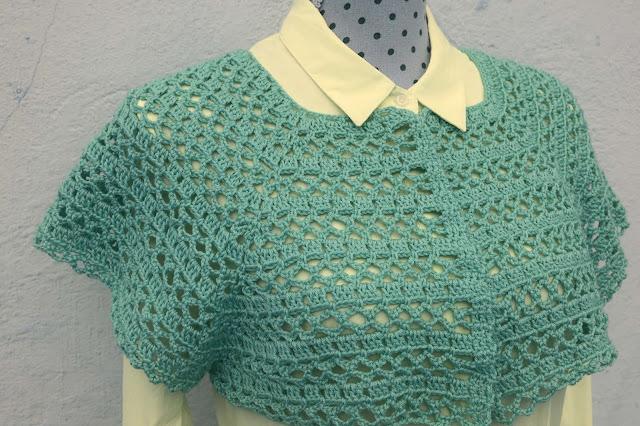 5 - Crochet Imagen Canesú para chaqueta de primavera a crochet por Majovel Crochet