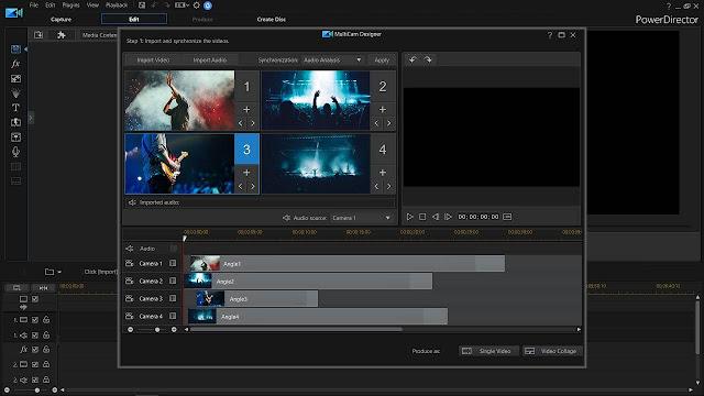 Screenshot CyberLink PowerDirector Ultimate 18.0.2028.0 Full Version