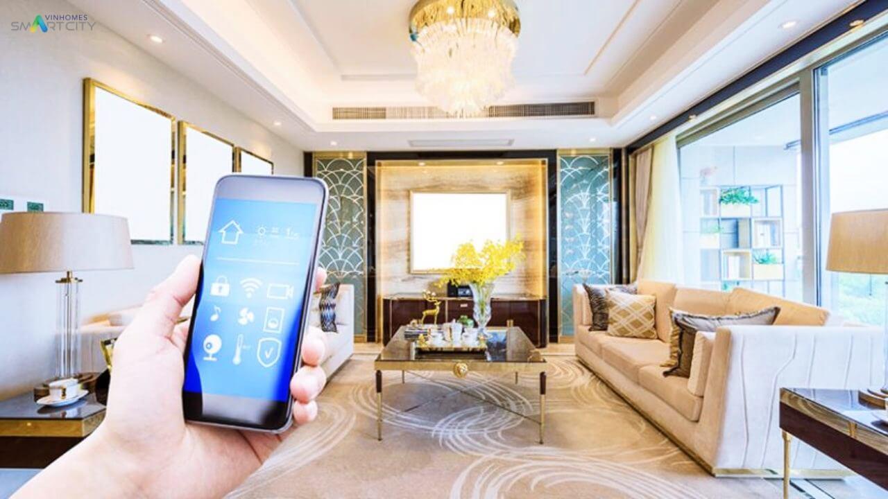 Công nghệ Smarthome bên trong căn hộ Vinhomes Smart City Tây Mỗ