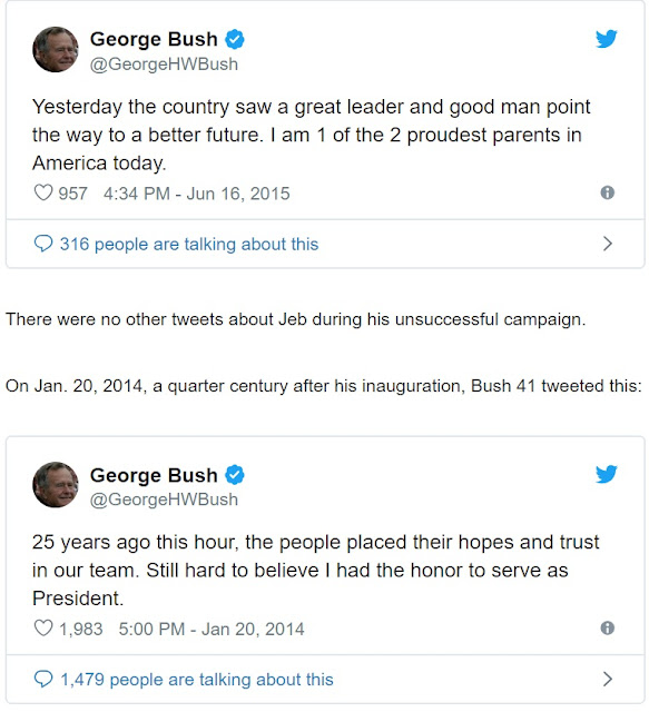 George H.W. Bush, 41st President Of United States Dead At 94