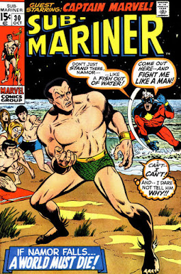 Sub-Mariner #30, Captain Marvel
